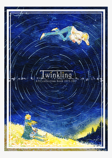 Twinkling ATC collection book 2015-2017