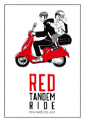 RED TANDEM RIDE