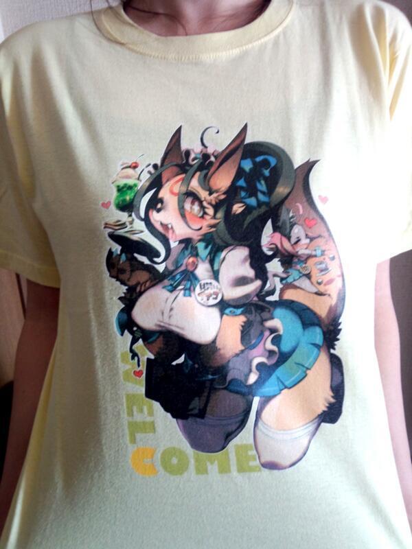 ジーウォーク獣組:記念Tシャツ(ライトイエロー:Mサイズ) ジーウォーク獣組:記念Tシャツ(ライ