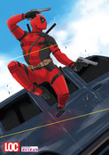 DEADPOOL postcard